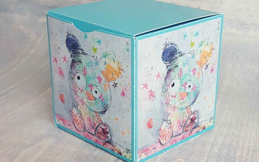 Printable Gift Box – cube